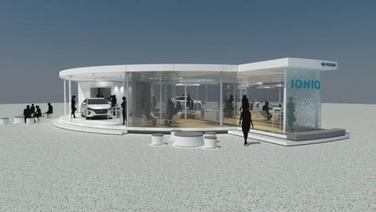 """Die """"Generation IONIQ-Tour"""" – Hyundai präsentiert einen Blick in die Zukunft"""