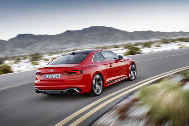 Das neue Audi RS 5 Coupé