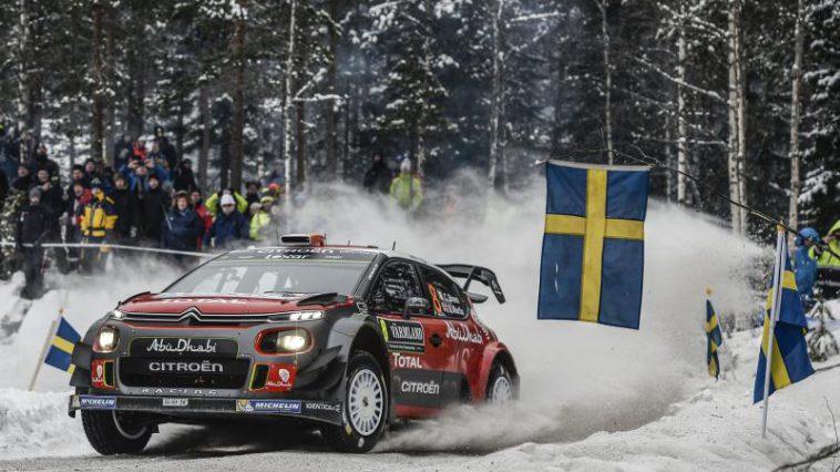 Rallye Schweden: Craig Breen/Scott Martin erreichen im Citroën C3 WRC ihr Ziel