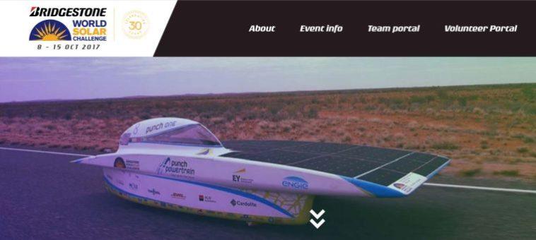 Die australische World Solar Challenge feiert ihren 30.Geburtstag
